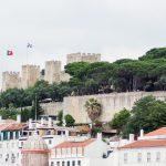 Detalle del Castillo de San Jorge