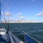 Lisboa a lo lejos