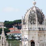 Detalle de la cupula en el Monasterio de los Jerónimos