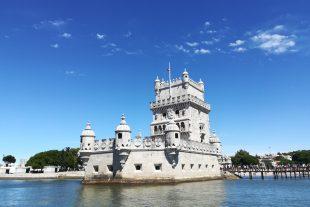 Torre de Belém vista desde o rio