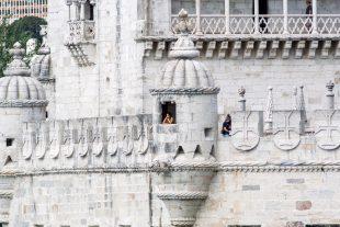 Detalhe de uma guarita da Torre de Belém