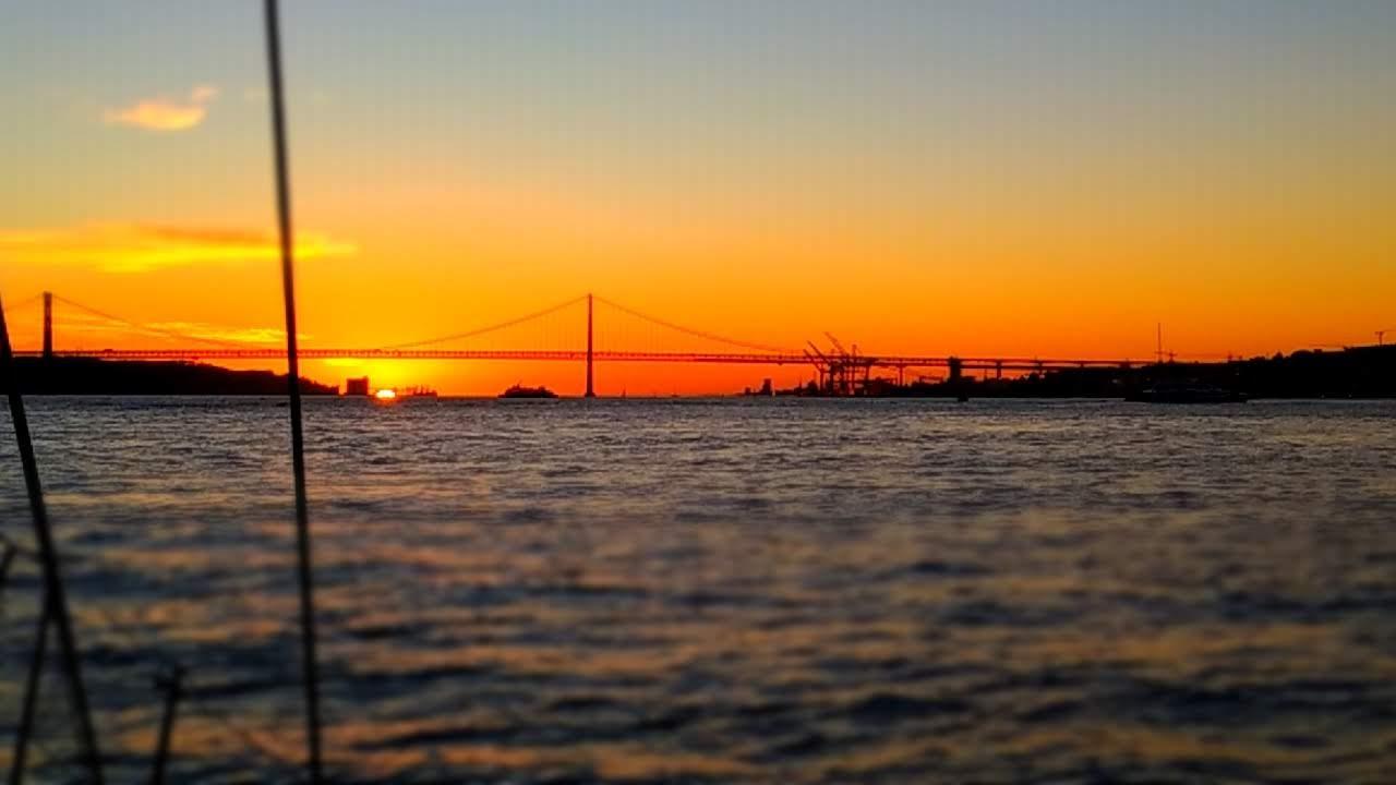 Por do Sol em Lisboa